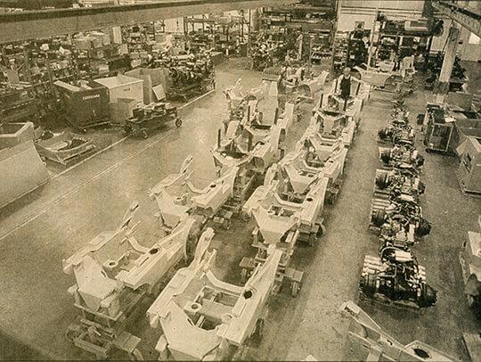 Vyroben 1000000 vozík CLARK